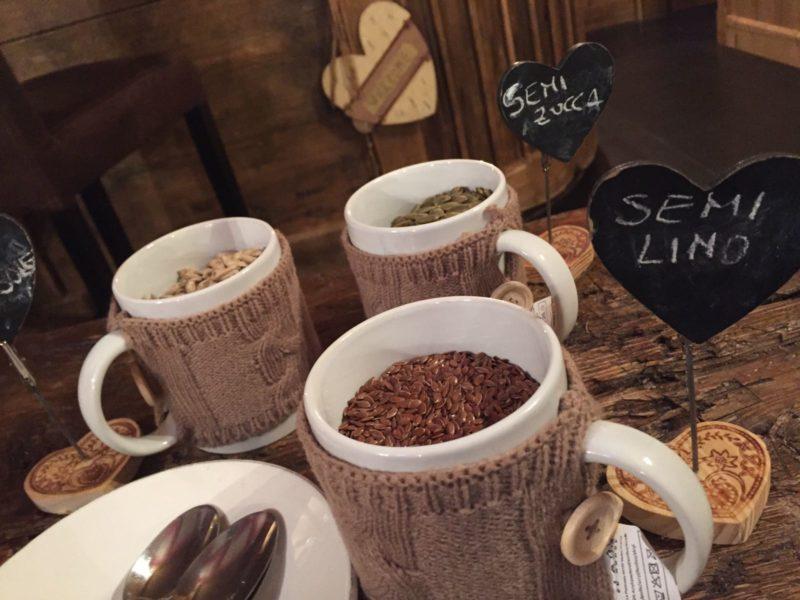 Locanda Collomb – colazione: semi